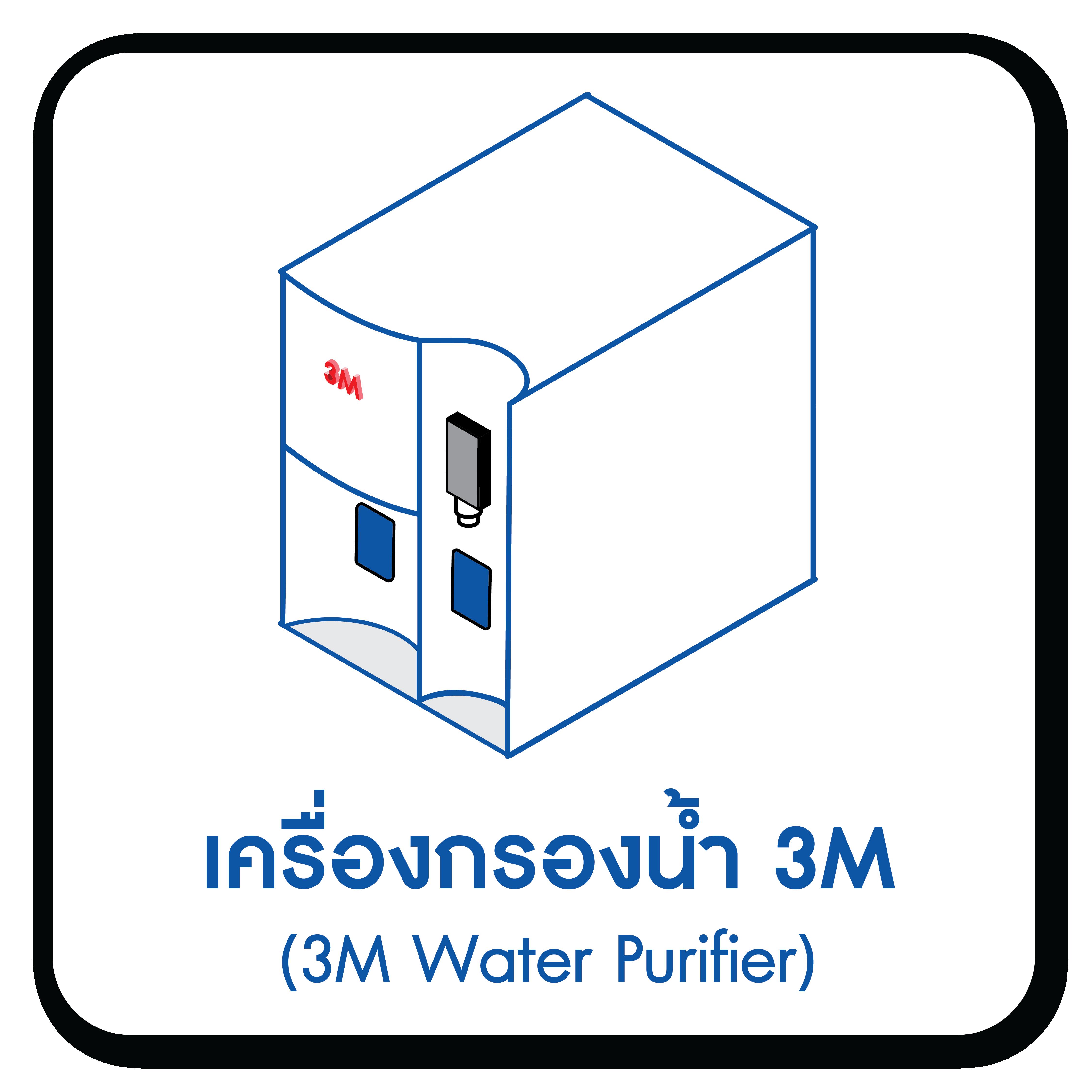 3M เครื่องกรองน้ำ